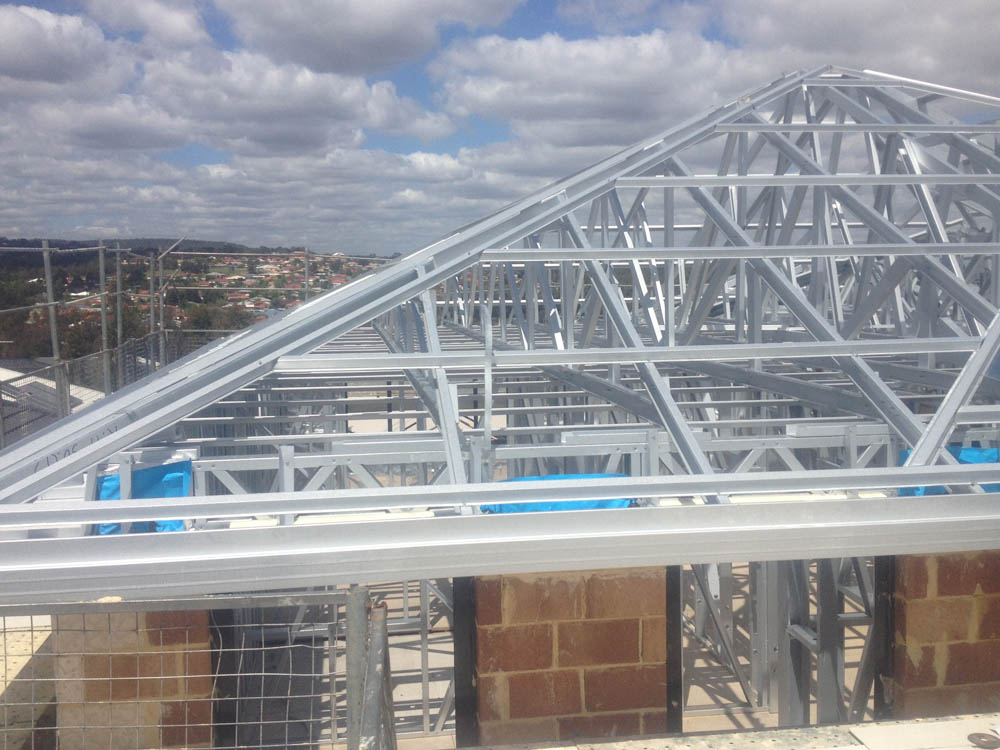 With Trussed Roof Construction, Only External Walls Are Load Bearing,  Making The Design Of Floor Structure Simple And Inexpensive. Our Trusses  Are Used To ...